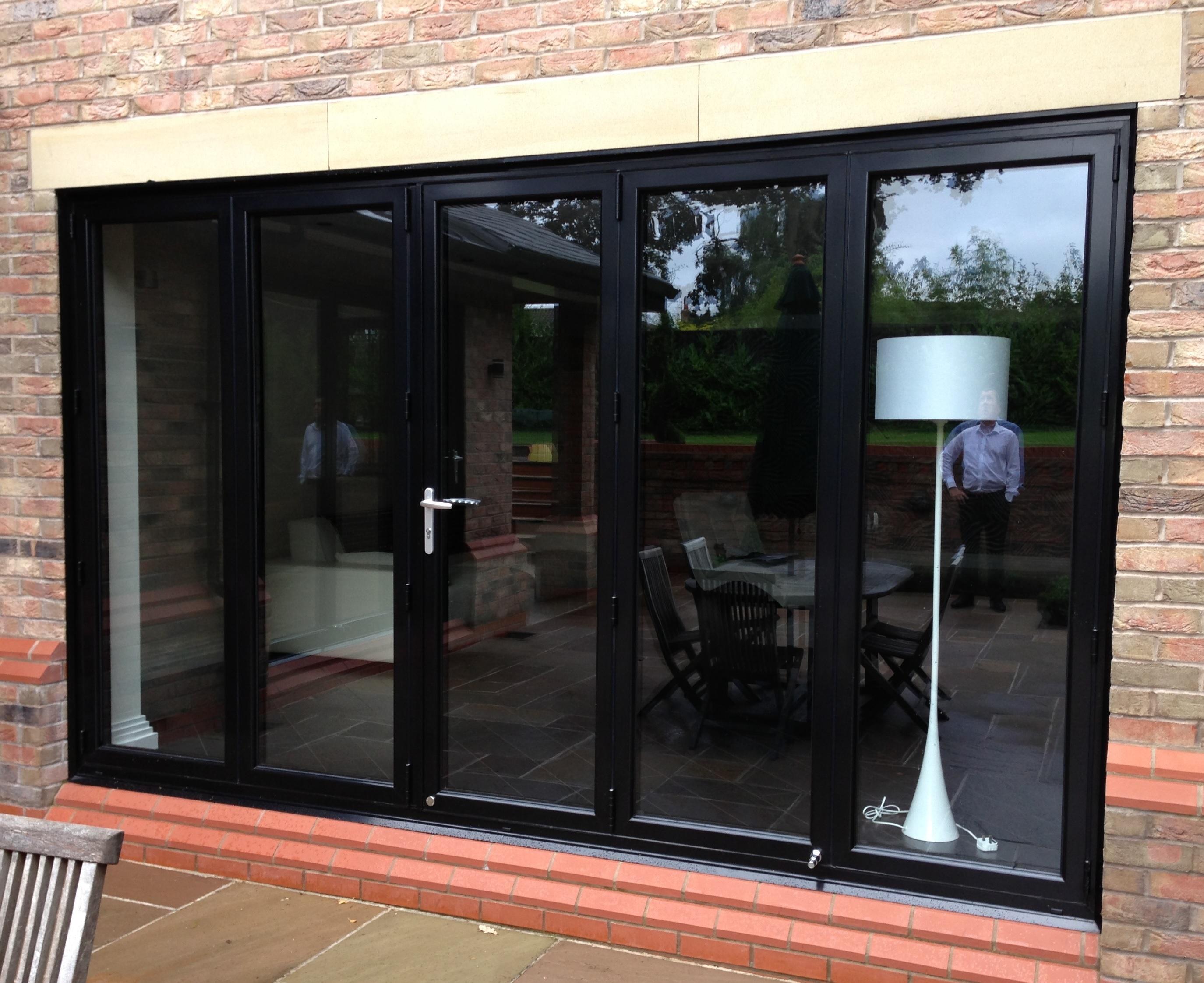 Aluminium Bifold Doors : Aluminium bi folding doors combat manchester