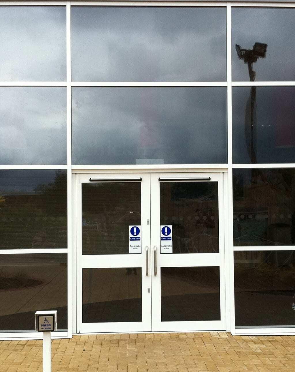 Aluminium Curtain Wall Combat Doors Manchester