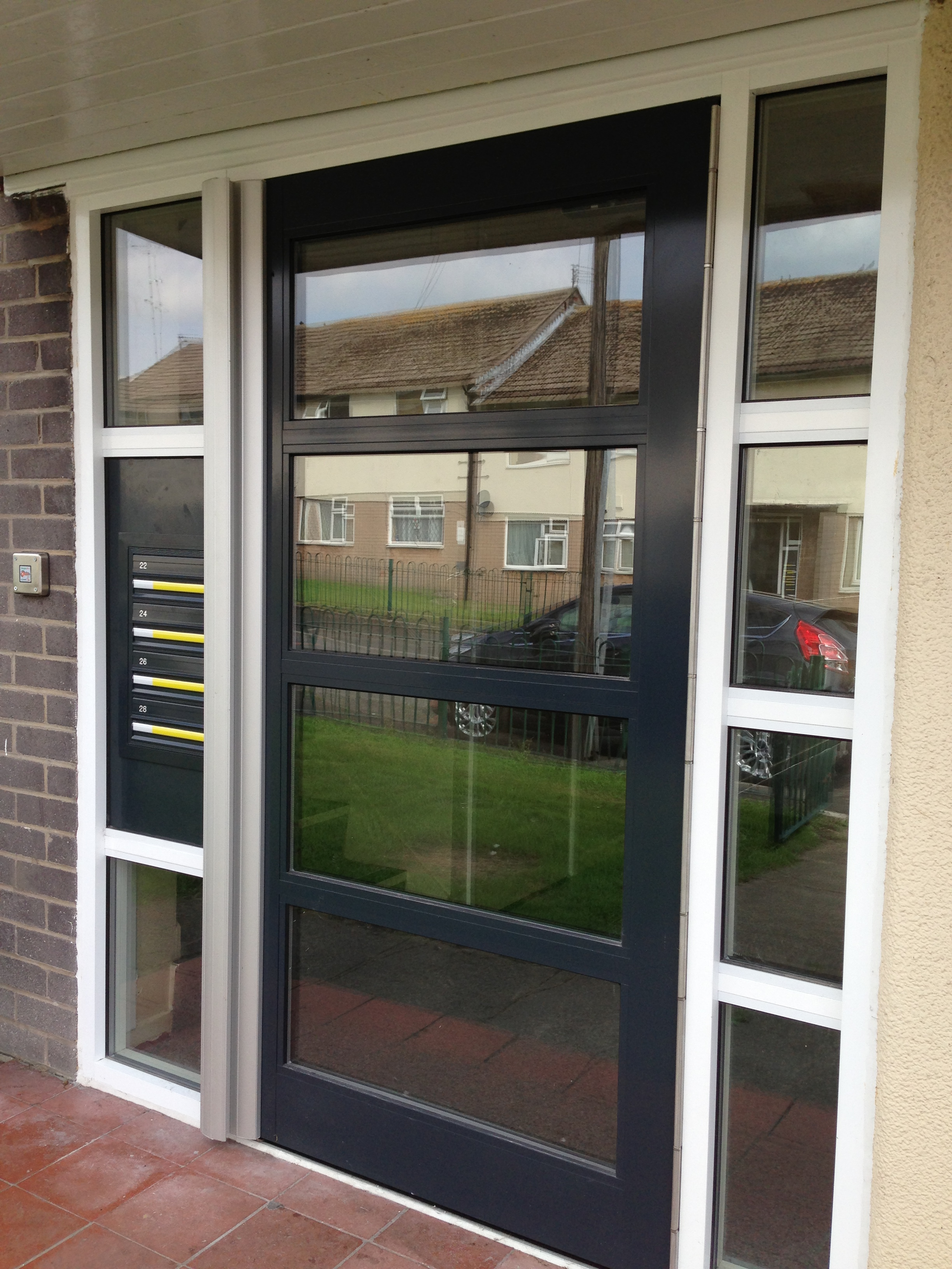 Commercial Entrance Systems Combat Doors Manchester