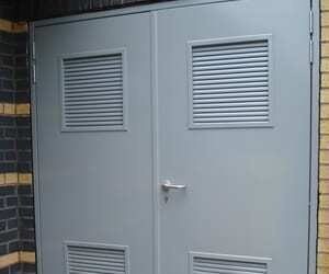 P6 Steel Security & Personnel Doors