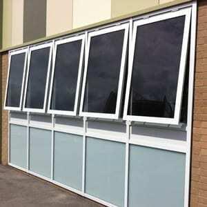 Aluminium Casement Window - Commercial Glazing
