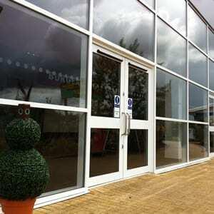 Aluminium Curtain Wall - Commercial Glazing