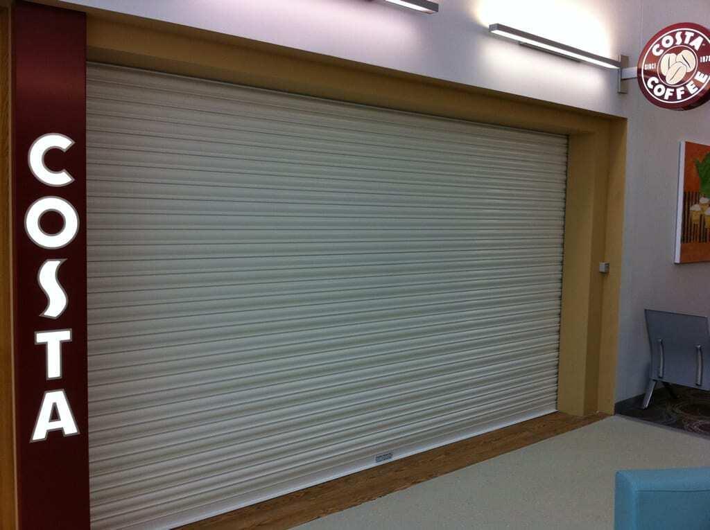 Commercial Roller Shutter by Combat Doors