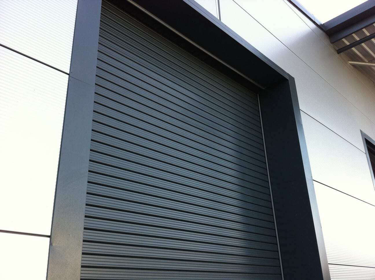 Insulated Industrial Roller Shutters by Combat Doors
