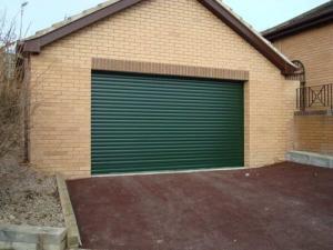 Domestic Garage Roller Shutter