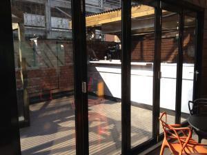 Bespoke aluminium sliding doors